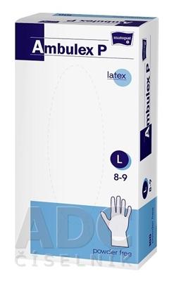 Ambulex P rukavice LATEXOVÉ, potiahnuté polymérom veľ. S, nesterilné, nepúdrované 1x100 ks