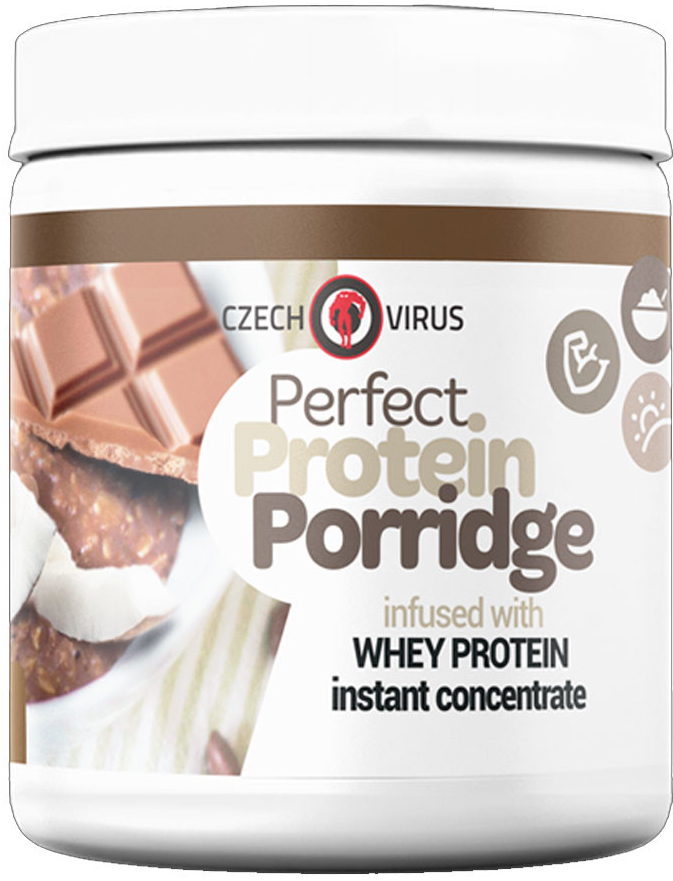 Czech Virus Perfect protein porridge 500g Čokoláda/Kokos
