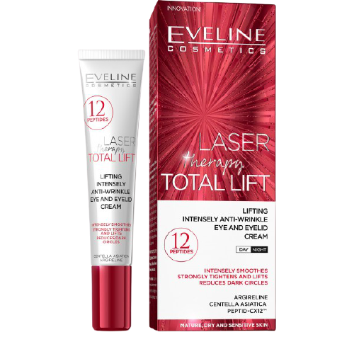 Eveline Cosmetics Laser Therapy Total Lift Očný krém 15ml