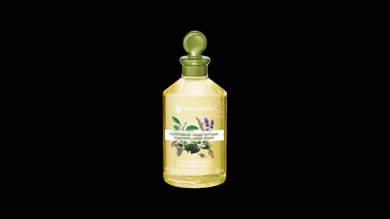 Yves Rocher Relaxačný telový a masážny olej Kvet pomarančovníka 150 ml