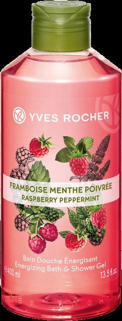 Yves Rocher Sprchovací gél Malina & Mäta 400 ml