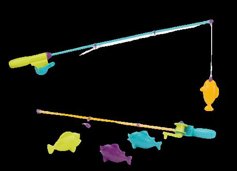 B-Toys, ada rybárskych prútov s rybičkami.