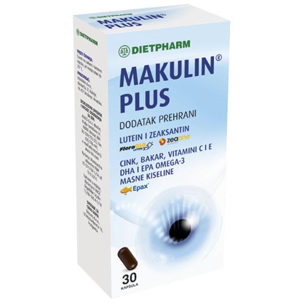 DIETPHARM MAKULIN PLUS 30 cps
