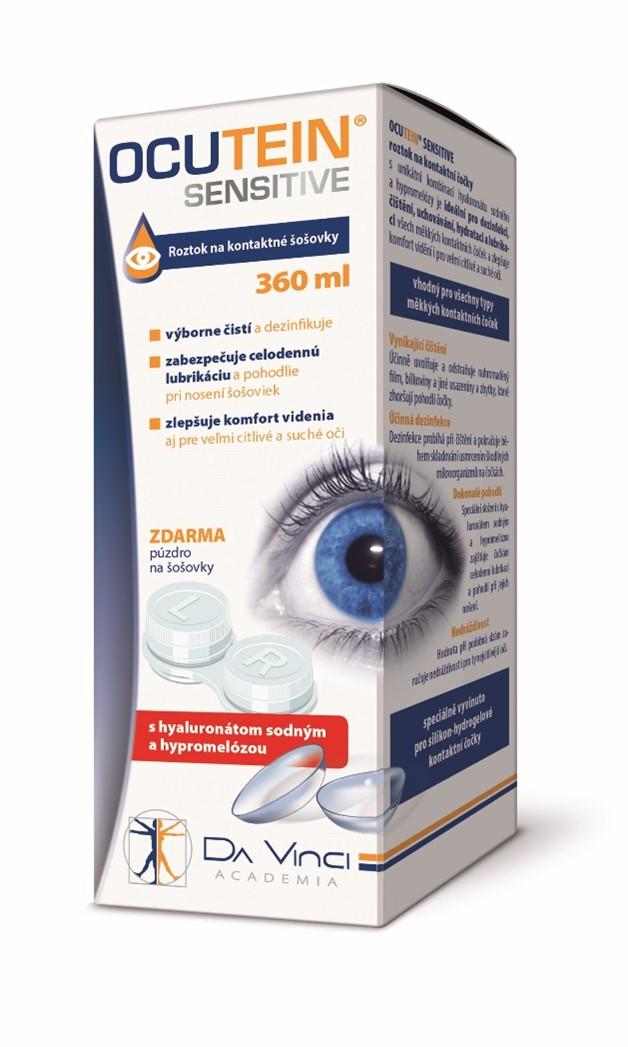 OCUTEIN SENSITIVE roztok na kontaktné šošovky 360ml