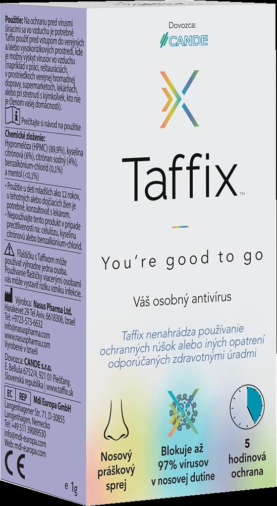 Taffix nosový práškový sprej 1g