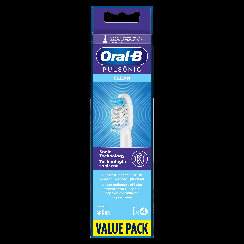 Oral-B Pulsonic náhradné hlavice pre sonickú kefku 4ks