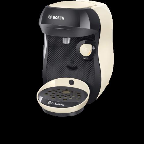 Espresso TAS1007 Happy Tassimo krémovo čierny Bosch