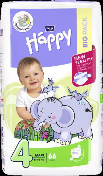 Bella Baby Happy Maxi Big Pack 66ks