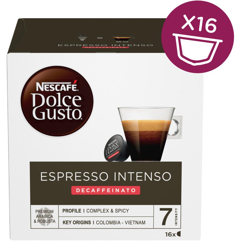 Kapsule Nescafé Dolce Gusto Espresso Intenso Decaffeinato