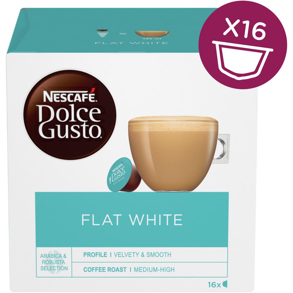 Kapsule Nescafé Dolce Gusto Flat White 16 kapsúl