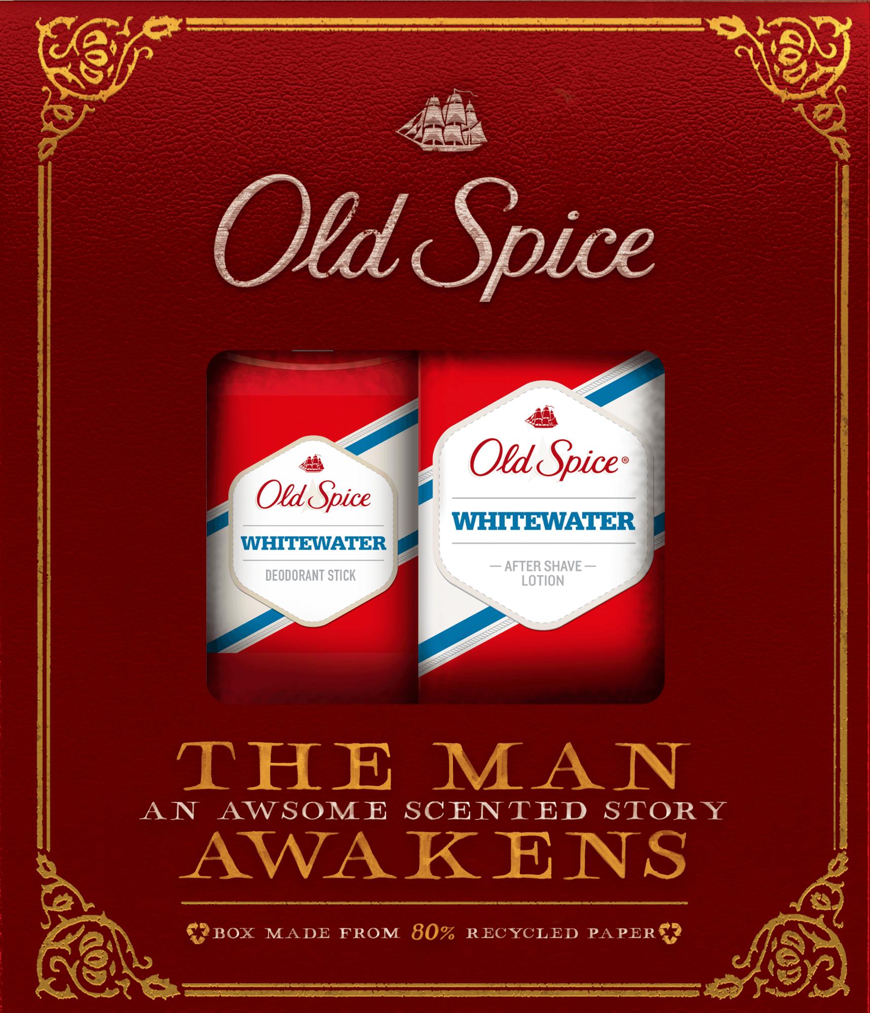 Vianočná sada Old Spice Whitewater Vintage