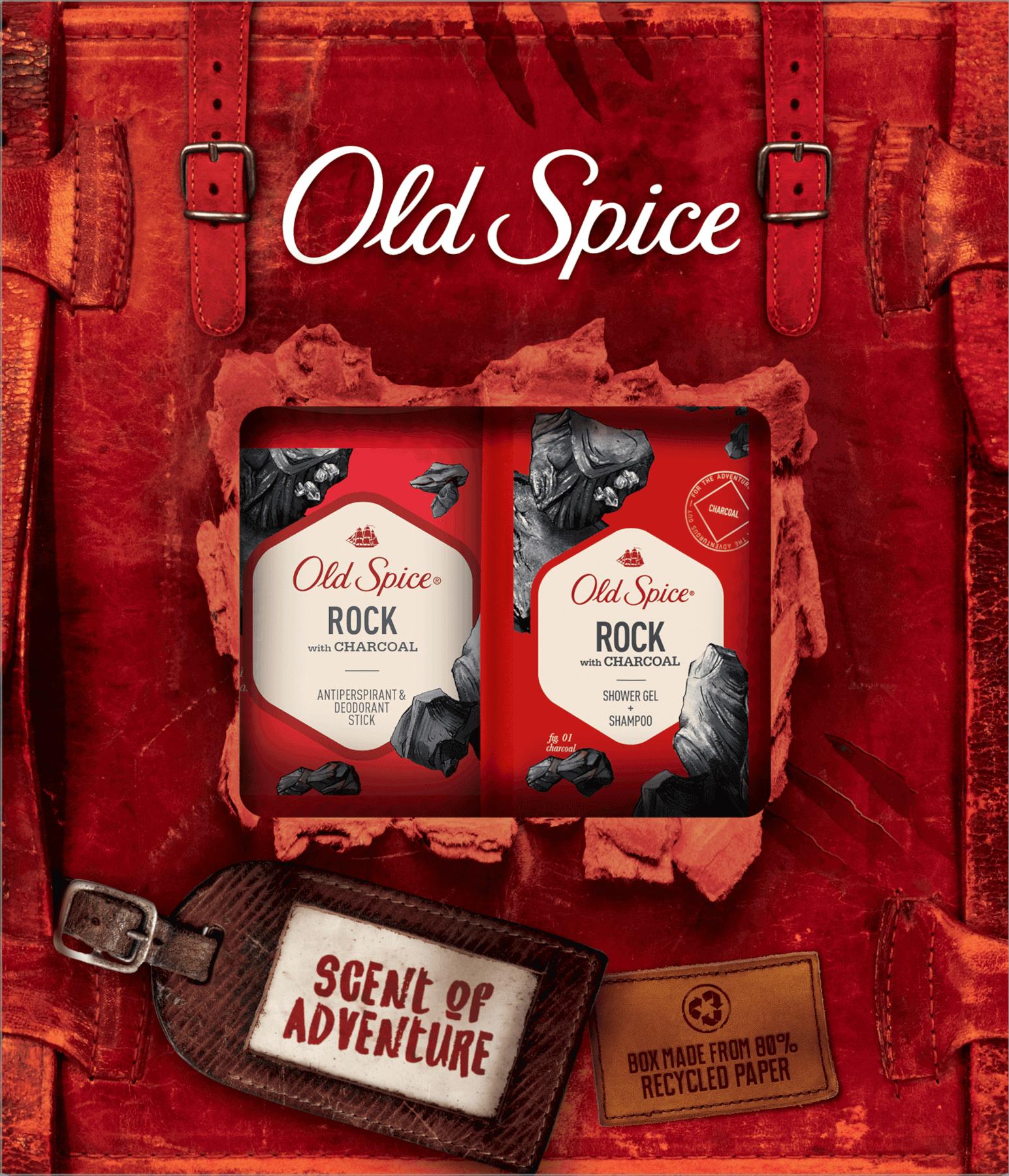 Vianočná sada Old Spice Rock Adventurer