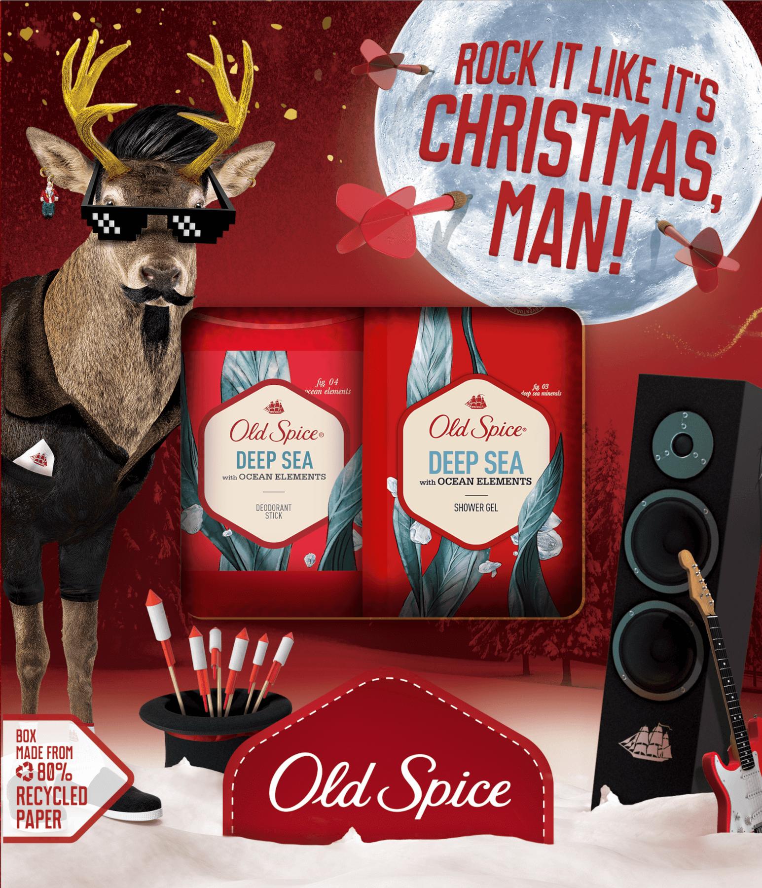 Vianočná sada Old Spice Deep Sea Fun