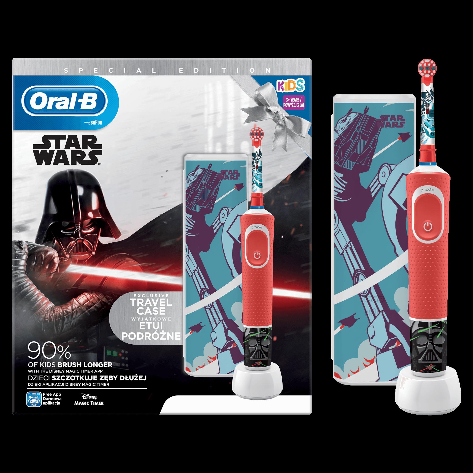 Oral B Vitality D100 Star Wars Elektrická zubná kefka + Cestovné púzdro