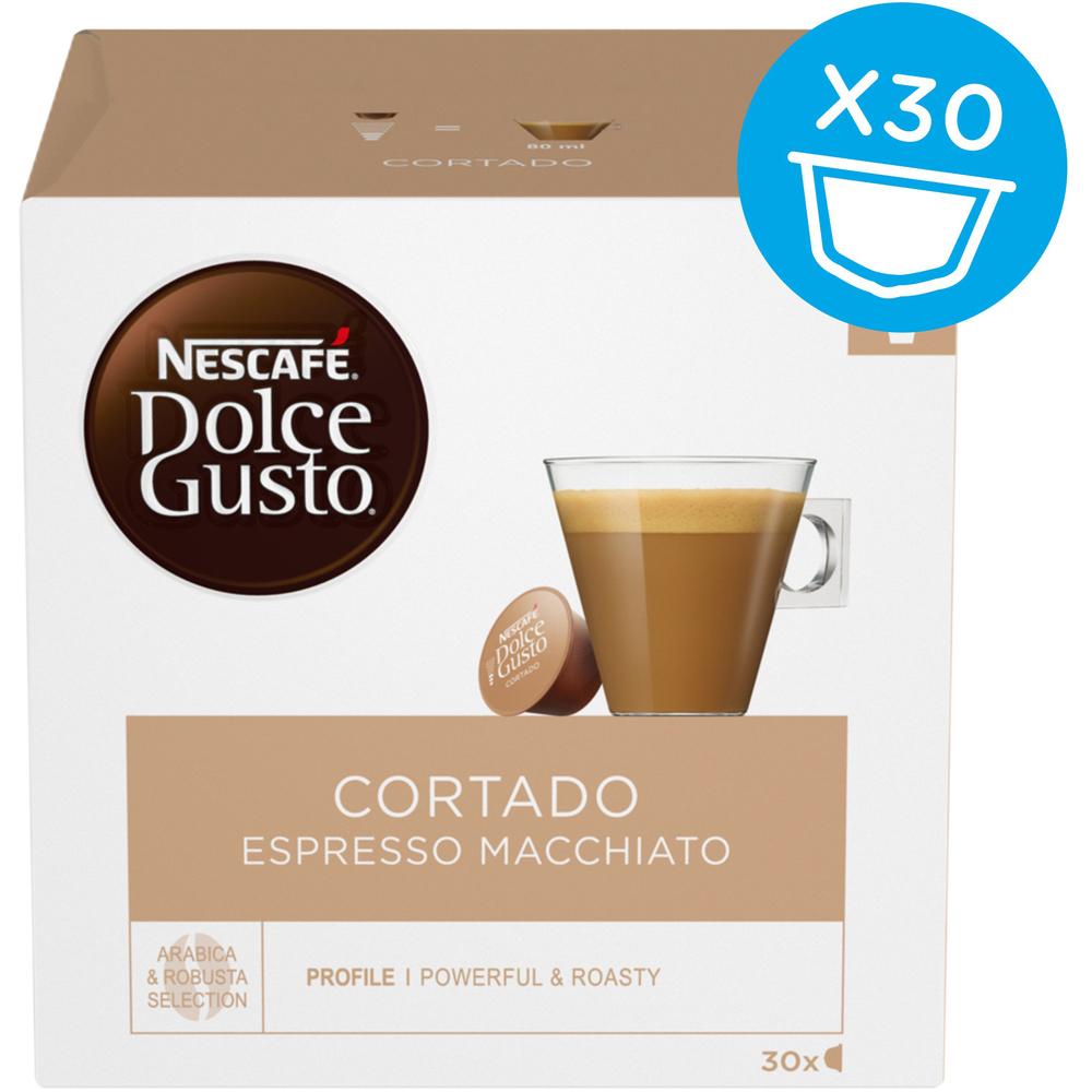 Kapsule Nescafé Dolce Gusto Cortado Espresso Macchiato 30 kapsúl