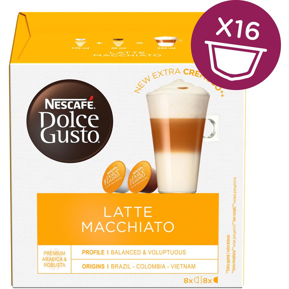 Kapsule Nescafé Dolce Gusto Latte Macchiato 16 kapsúl