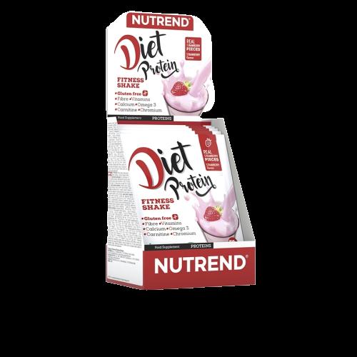 NUTREND Diet Proteín 5x50g jahoda