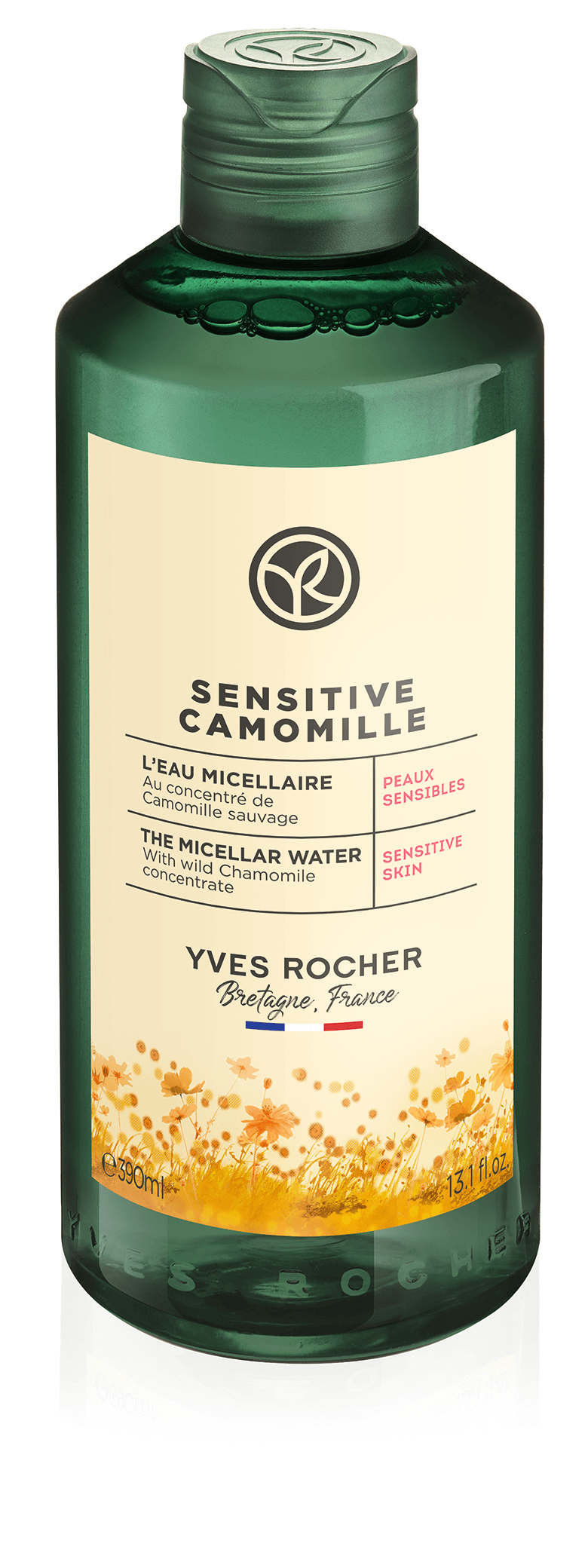 Yves Rocher Sensitive camomille- micelárna voda 390 ml