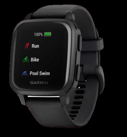 Garmin Smart hodinky Venu SQ Music Black/Slate