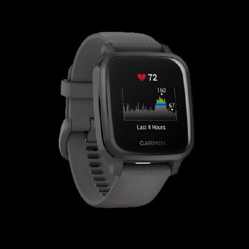 Garmin Venu SQ Smart hodinky Shadow Gray/Slate