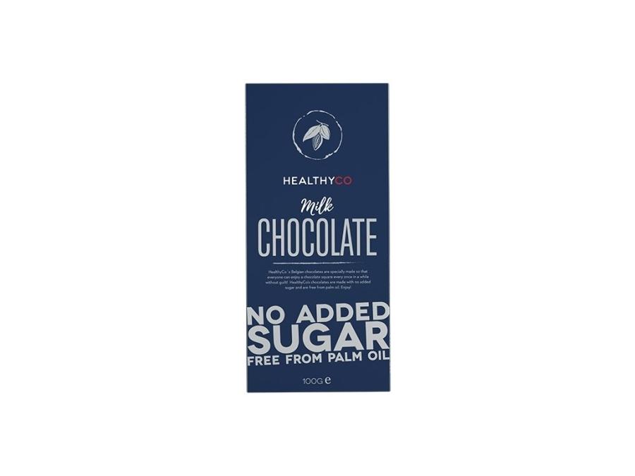 Healthyco Čokoláda mliečna 100g