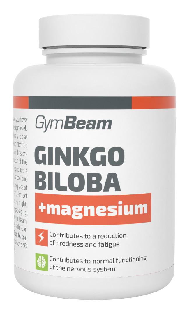 GymBeam Ginkgo Biloba + Magnézium 90 kapsúl