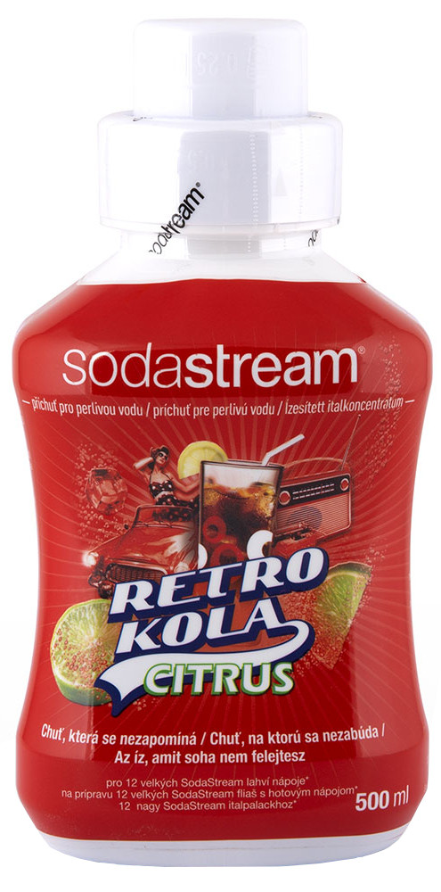 Sodastream Sirup Retro Cola 500ml