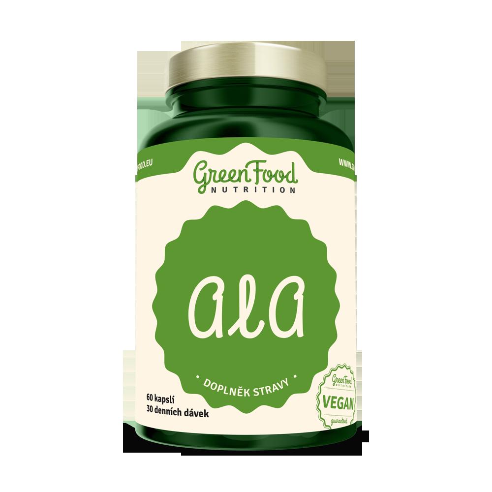 GreenFood ALA 60 kapsúl