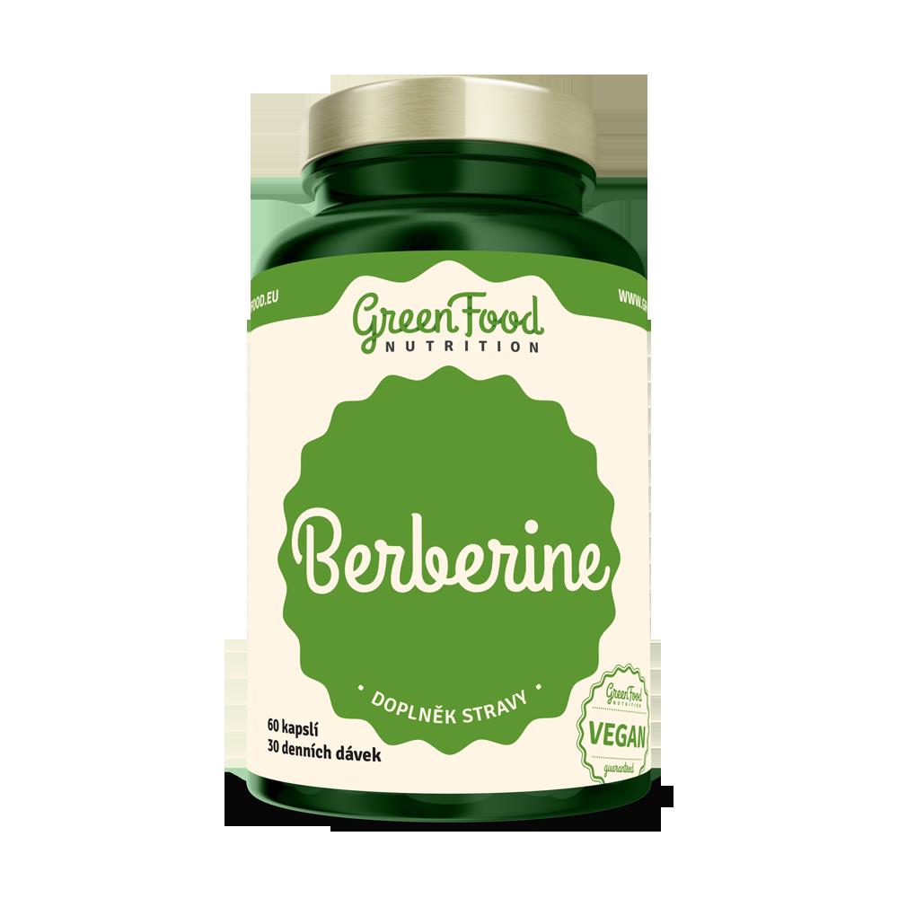 GreenFood Berberine 60 kapsúl