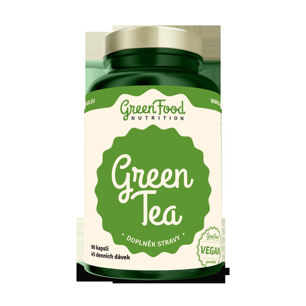 GreenFood Green Tea 90 kapsúl