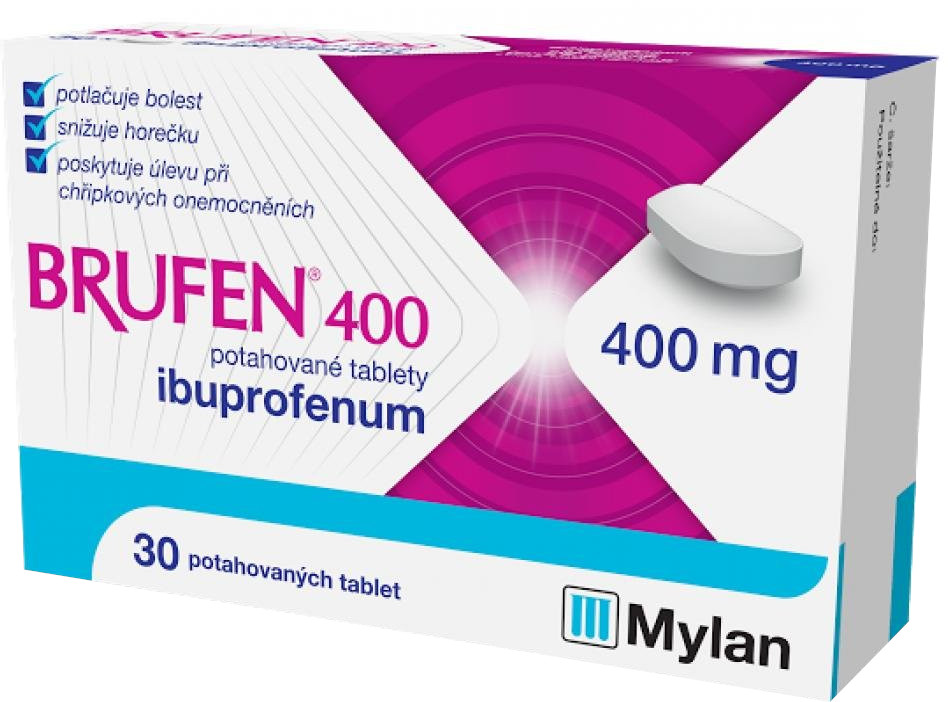 BRUFEN 400, 400mg 30 tabliet