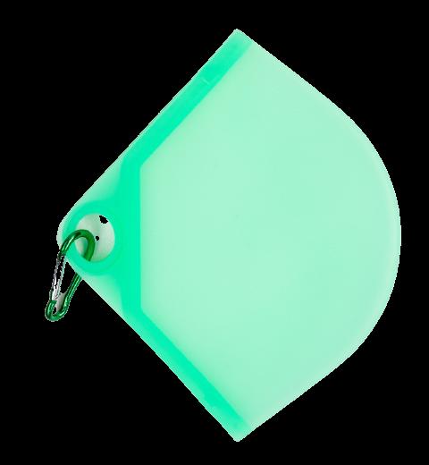 Obal na rúško, zelené