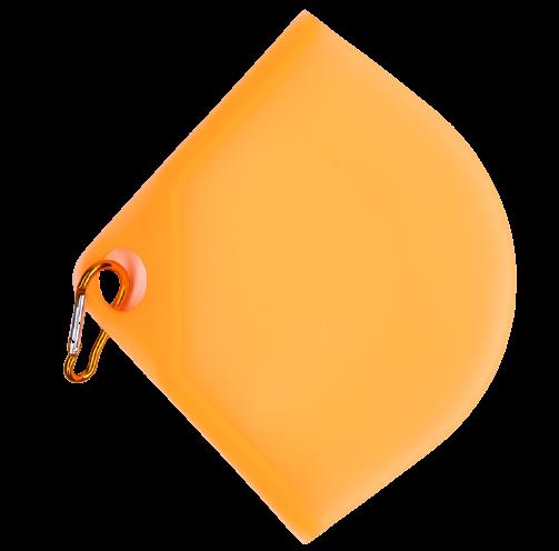 Obal na rúško, oranžové