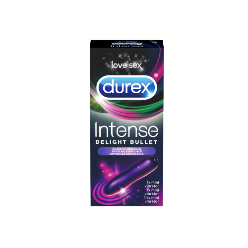 Durex Mini vibrátor Intense Delight Bullet 1ks