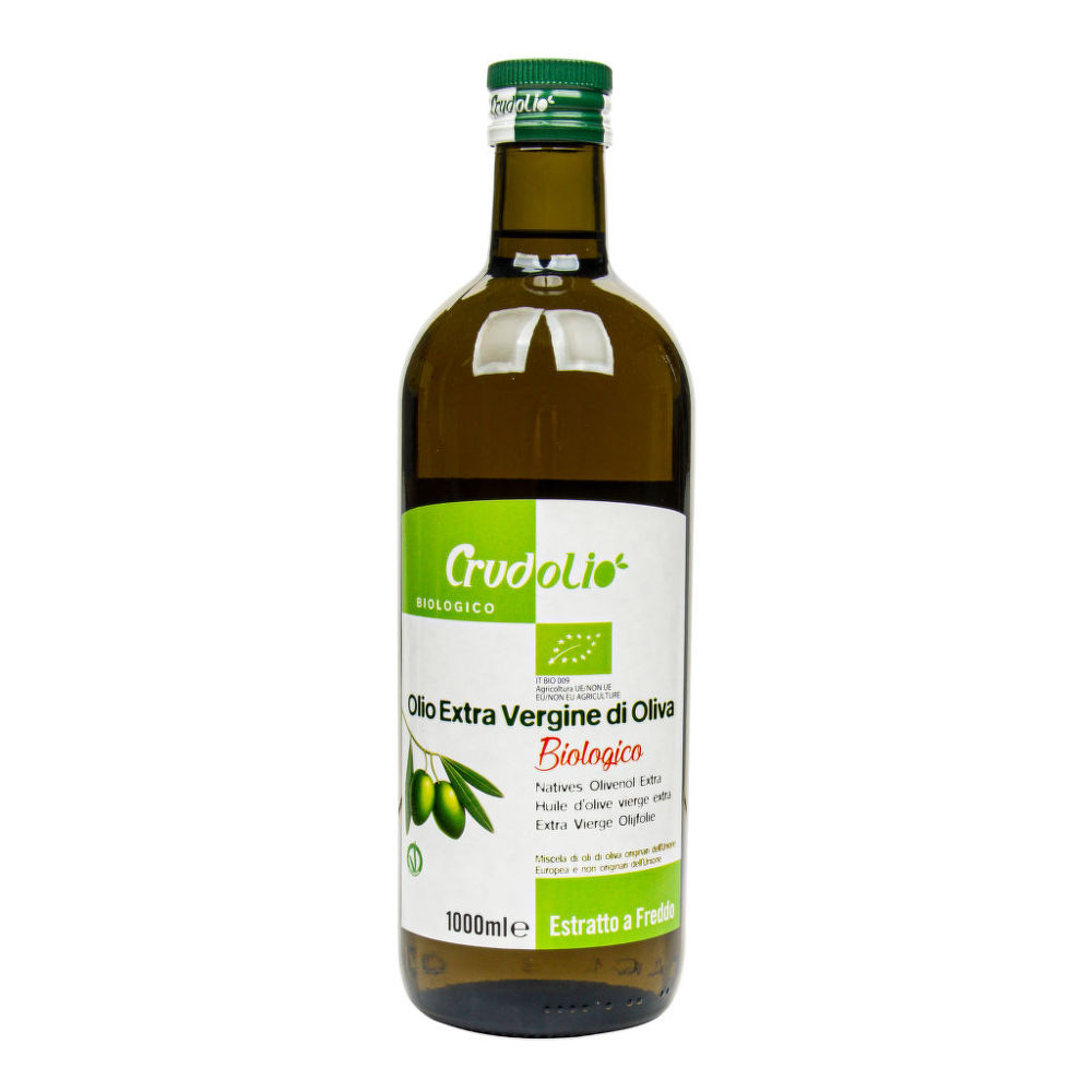 Crudolio Olivový extra panenský olej BIO 1l