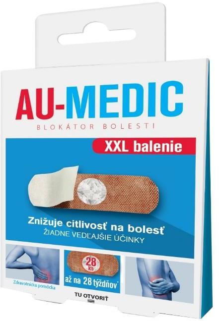 AU-MEDIC blokátor bolesti náplasti 28ks