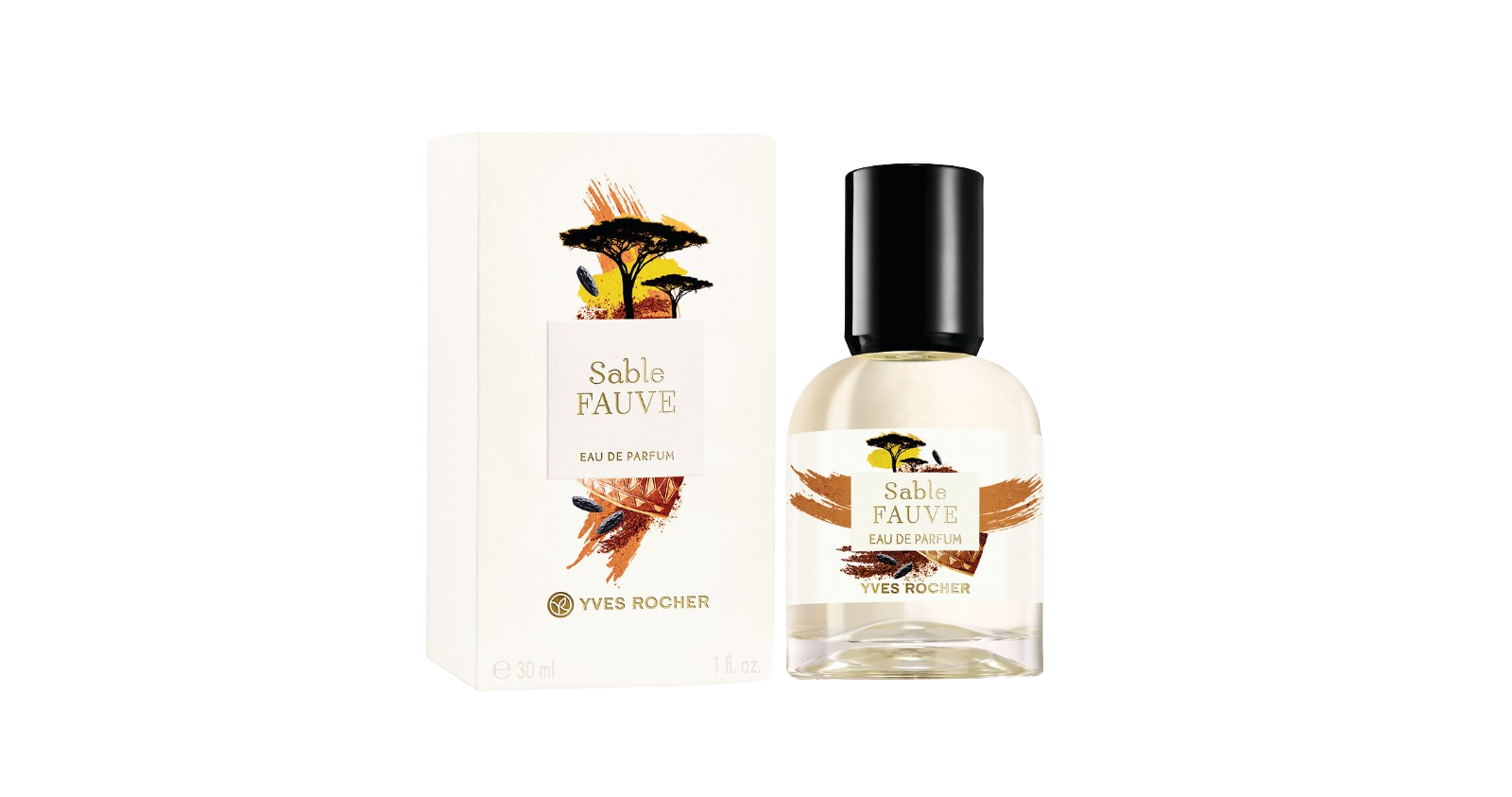 Yves Rocher Parfumová voda SABLE FAUVE 30ml