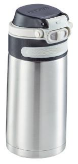 Leifheit Termoska so šikovným uzáverom 350ml - strieborná