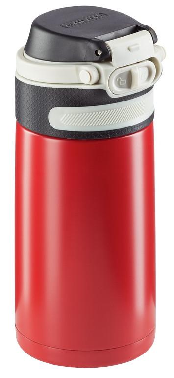 Leifheit Termoska so šikovným uzáverom 350ml - červená