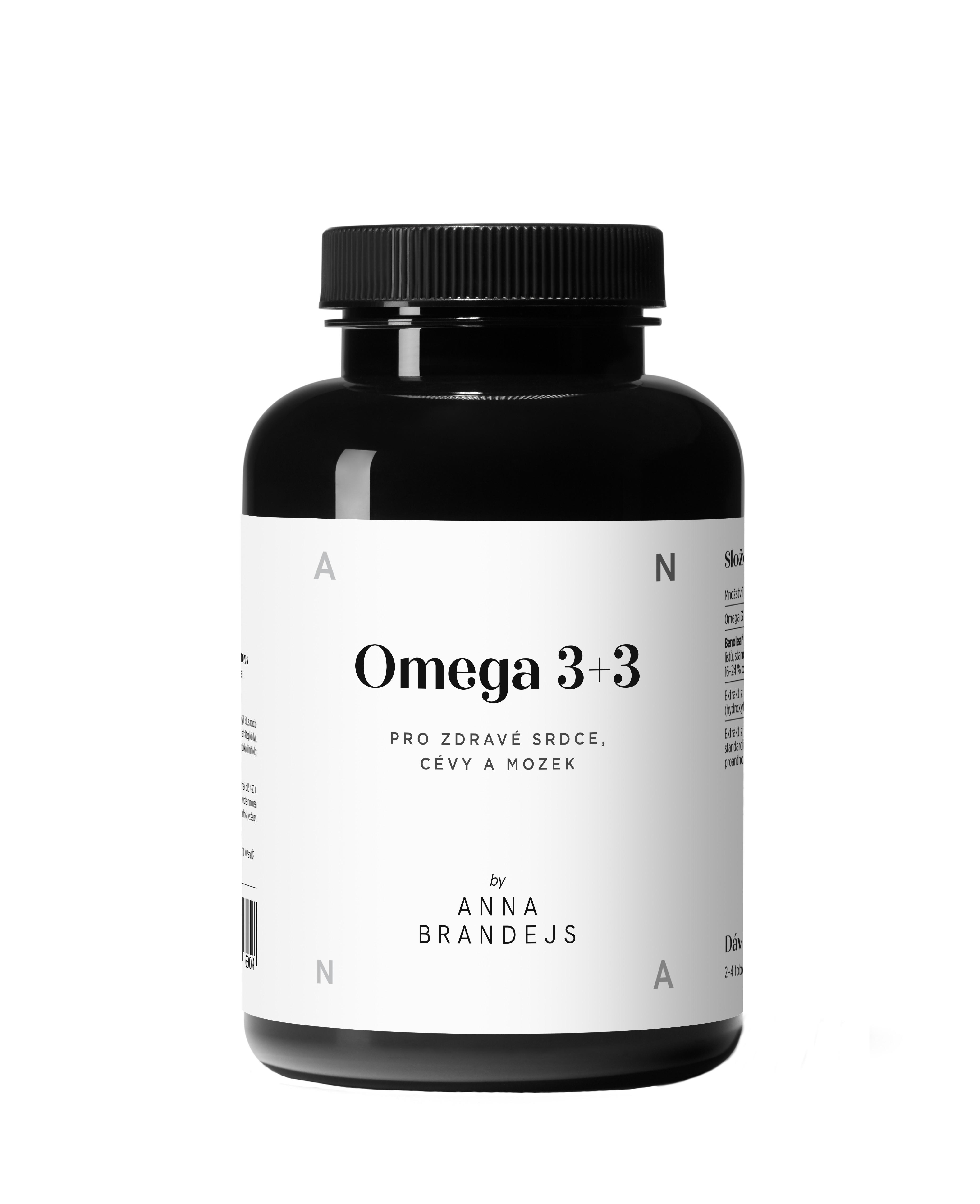 Omega 3+3 by Anna Brandejs 90 kapsúl