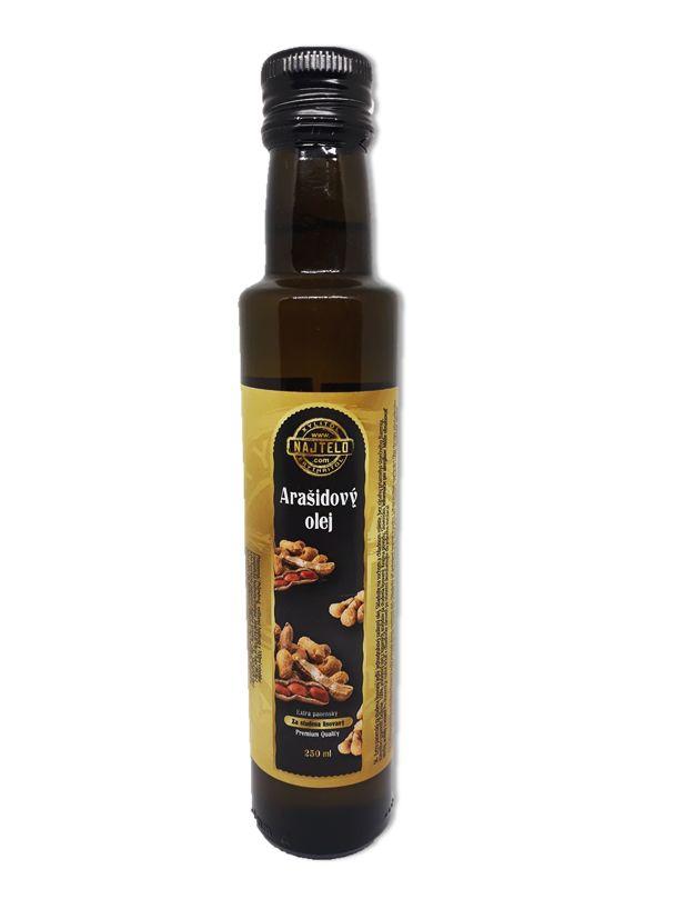 Najtelo Arašidový olej extra panenský 250ml SKLO