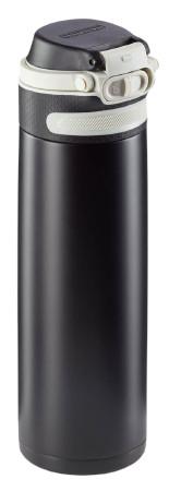 Leifheit Termoska so šikovným uzáverom 600ml - čierna