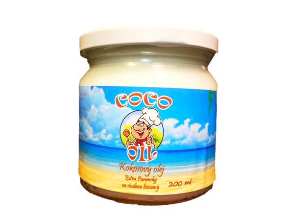 Najtelo Extra panenský za studena lisovaný Kokosový olej 200ml