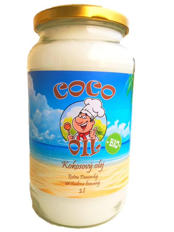 Najtelo Bio extra panenský kokosový olej 1l