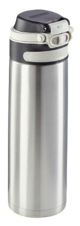 Leifheit Termoska so šikovným uzáverom 600ml - strieborná