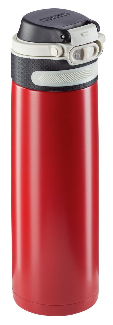 Leifheit Termoska se šikovným uzáverom 600ml - červená