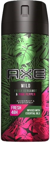 Axe deo sprej Wild Fresh Bergamot  Pink Pepper 150ml