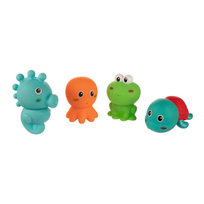 Canpol babies Sada kreatívnych hračiek do vody OCEÁN 4ks