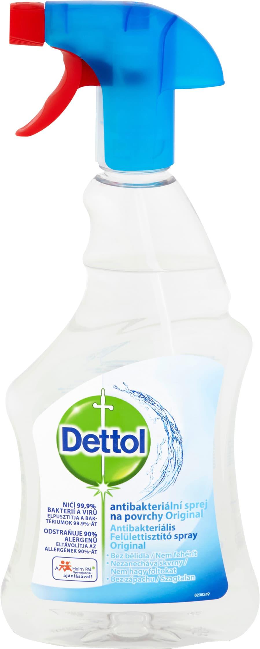 DETTOL Antibakteriálny sprej na povrchy Originál 500ml