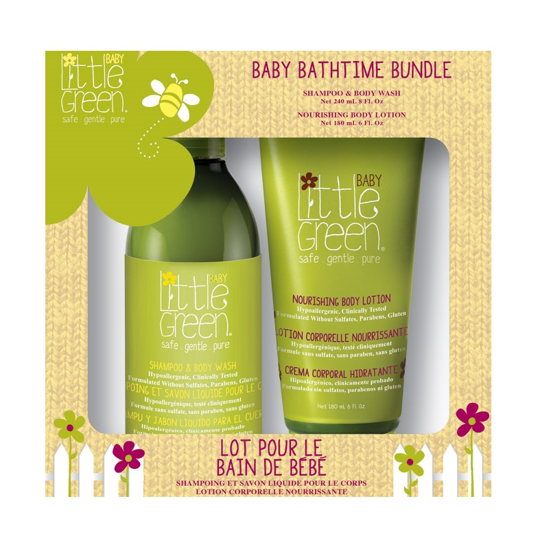 Little Green Sada Baby Bathtime Bundle 420ml
